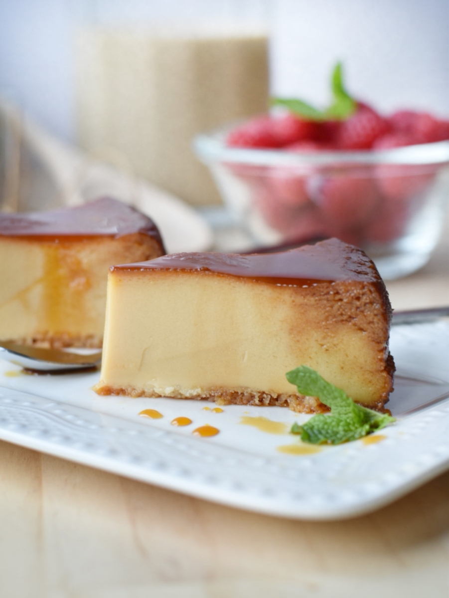 Irish caramel flan - Quesillo de Baileys