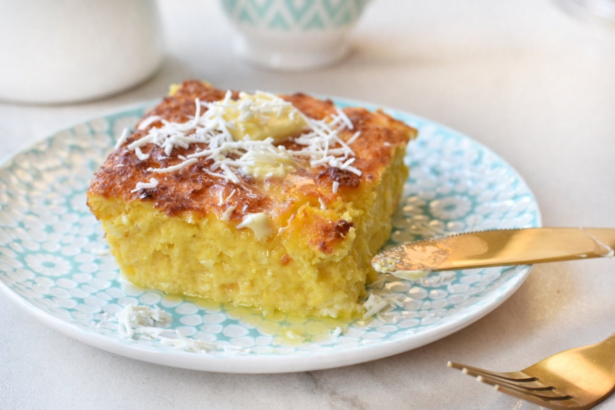 Torta de Jojoto/Maíz/Choclo/Elote - Sweet cornbread